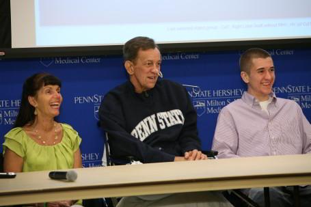The Bradbury family talk about the life-saving transplant procedure.