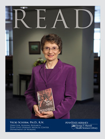 READ cover for Victoria Schirm, Ph.D., R.N.