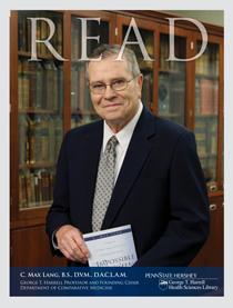 READ cover for C. Max Lang, D.V.M., D.A.C.J.A.M.