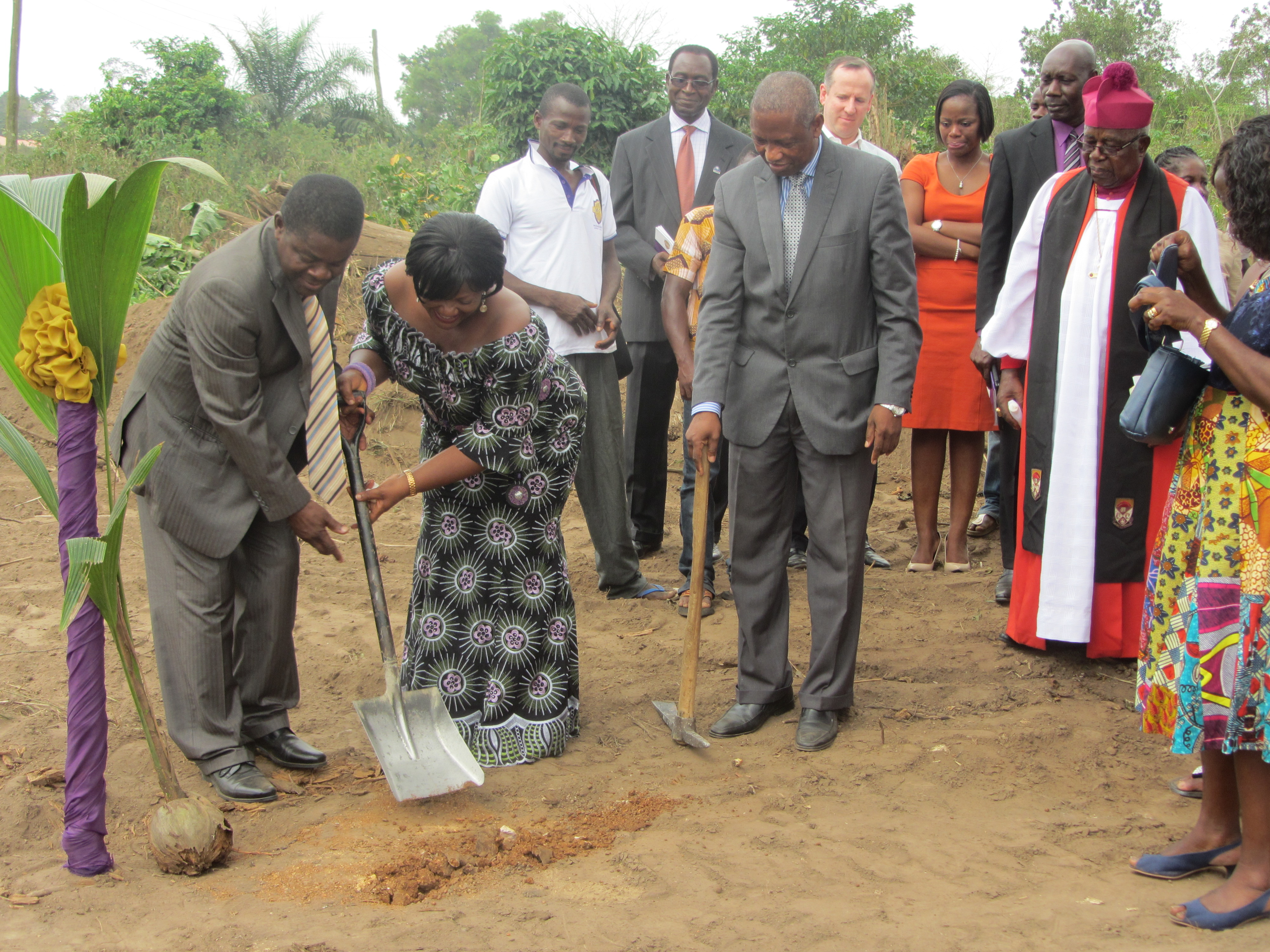 Kwaku Ansa-Asare and Helena Ansa-Asare, founders of MountCrest University School. The school's teaching hospital will be named after their son, Kwame Ansa-Asare, who died in 1999 at the age of 19 from leukemia.