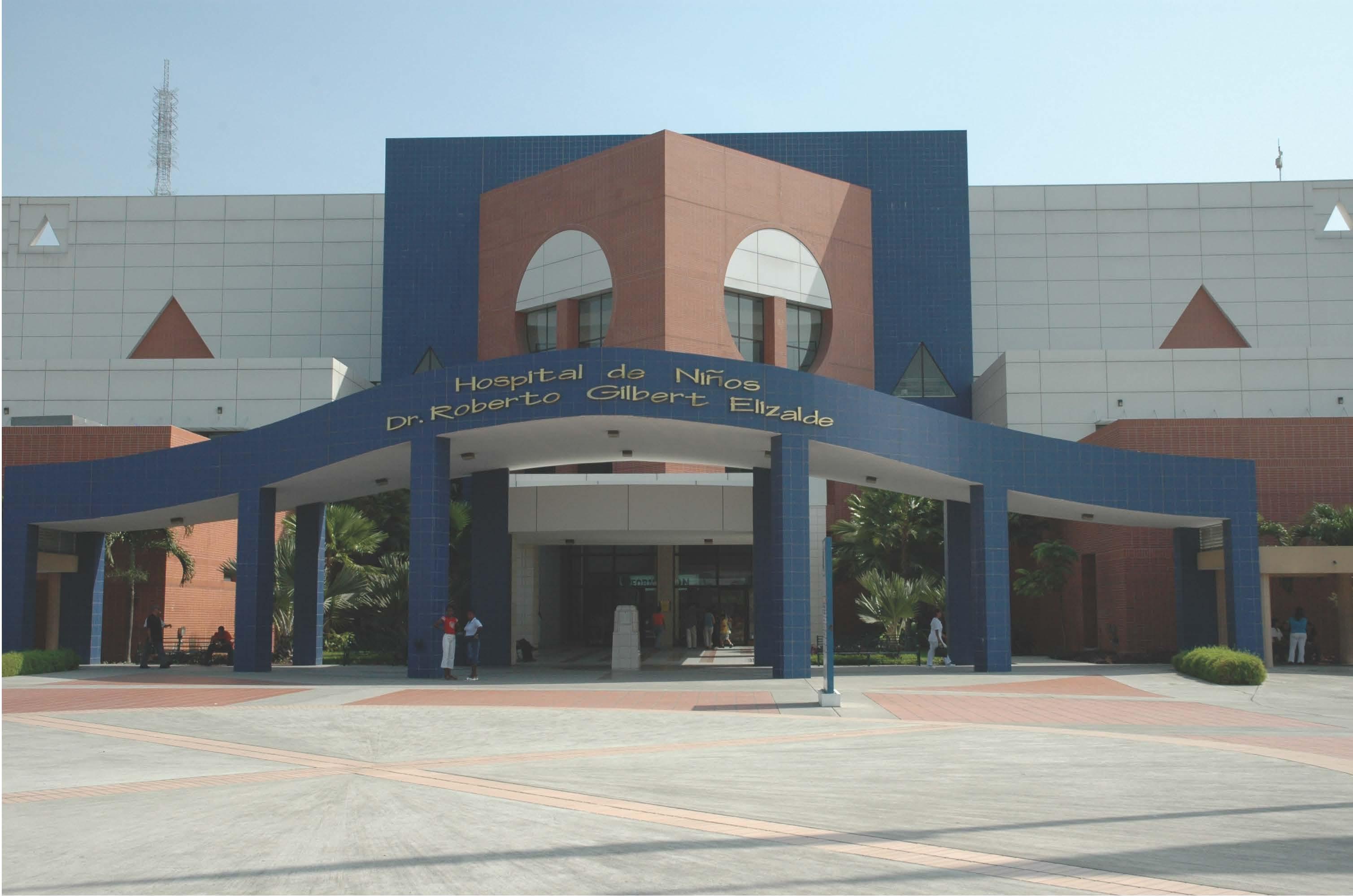 Hospital de Niños Roberto Gilbert E. in Ecuador.