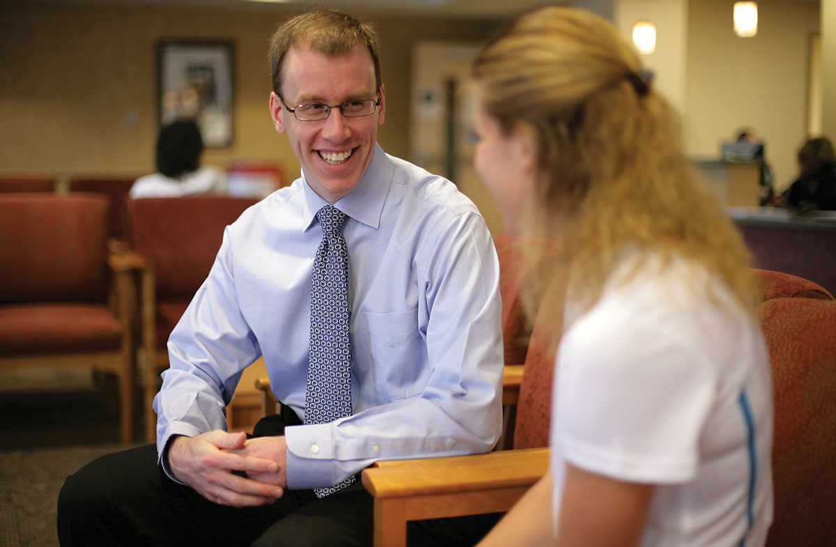 Sports Medicine for the Primary Care Provider is a bi-annual newsletter for physicians. Matt Silvis, MD, pictured at left, is the Medical Director of Primary Care Sports Medicine in the Department of Family and Community Medicine at Penn State College of Medicine/Penn State Health Milton S. Hershey Medical Center.