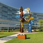 An exterior view of Penn State Children's Hospital,