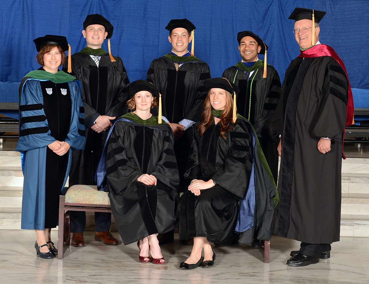 MD-PhD program graduates six students - Penn State Health News