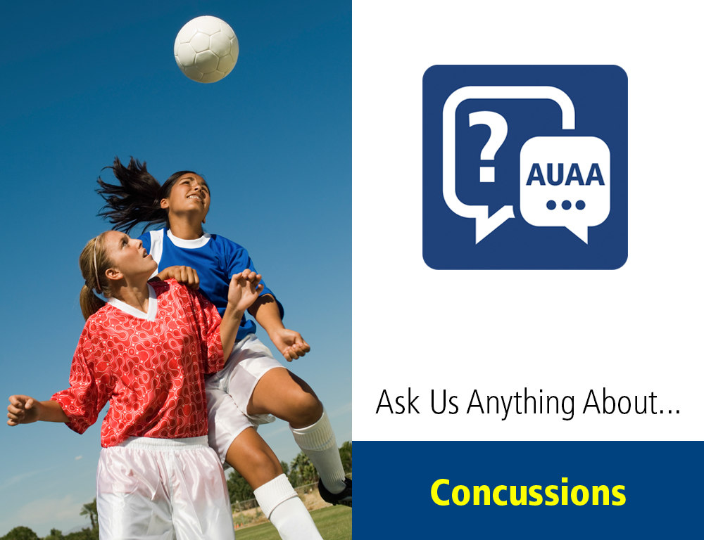 Ask Us Anything About… Concussions