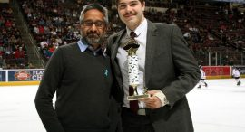 image for article: Winner crowned for best mustache in Hershey Bears 'No Shave November' contest