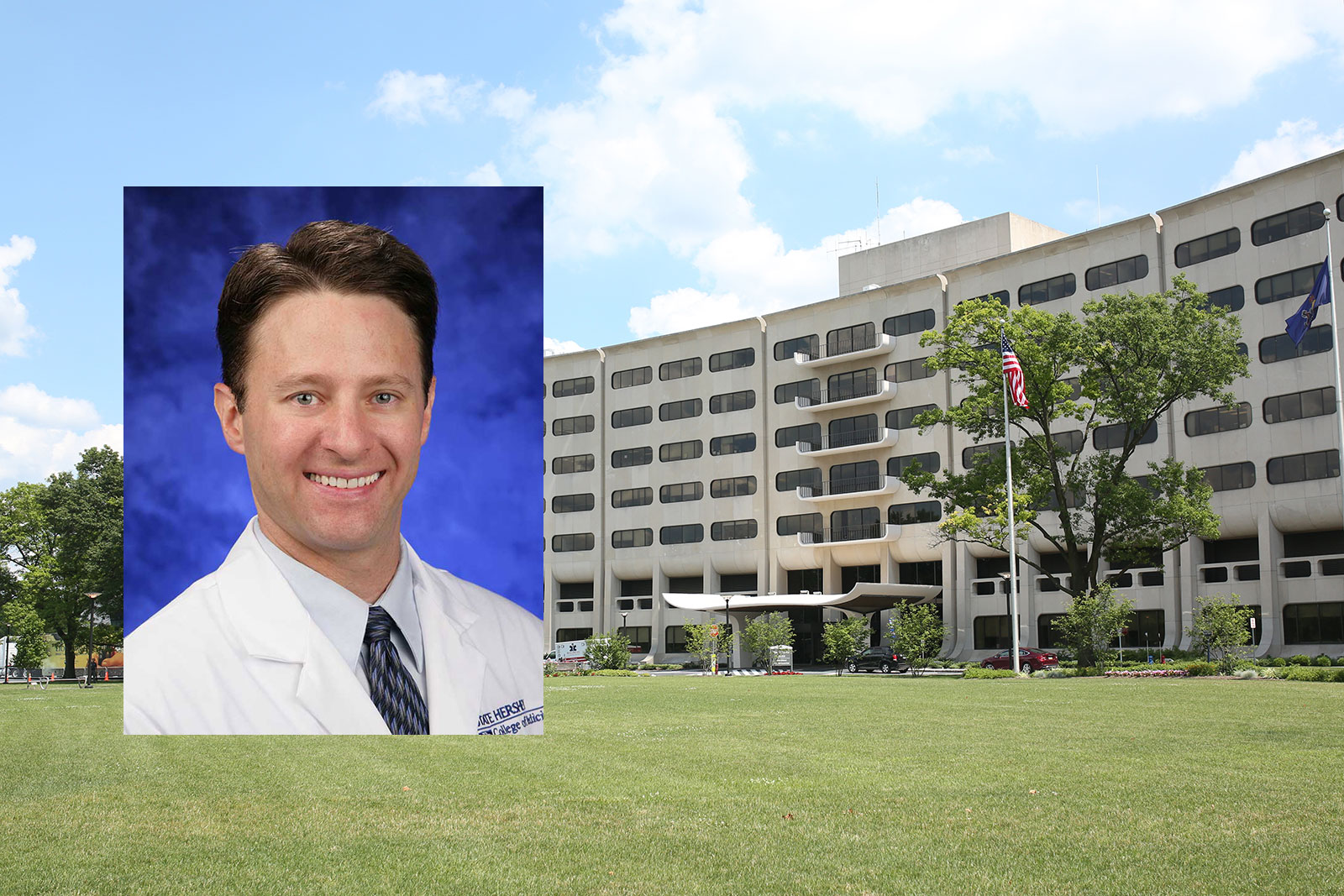 Dr. John Ingraham, a plastic and reconstructive surgeon in plastic surgery at Penn State Health Milton S. Hershey Medical Center, is the May 2018 recipient of Penn State College of Medicine™s