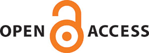 A logo for Open Access Week includes the words Open Access as well as a stylized image of an open padlock.