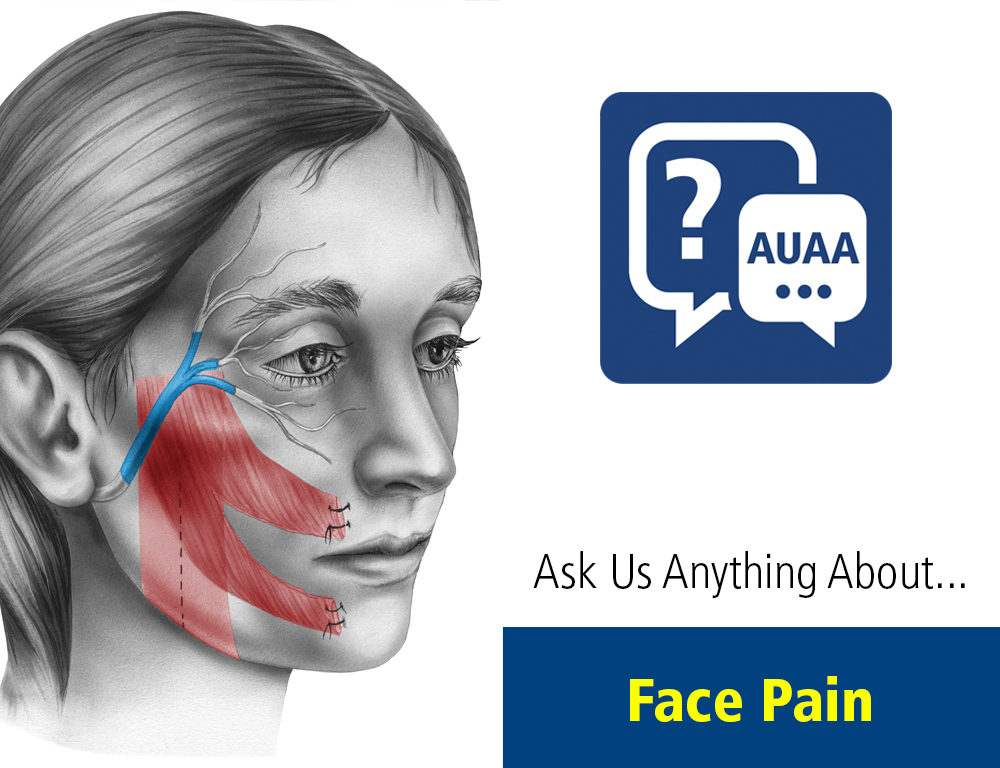 Ask Us Anything About... Face Pain