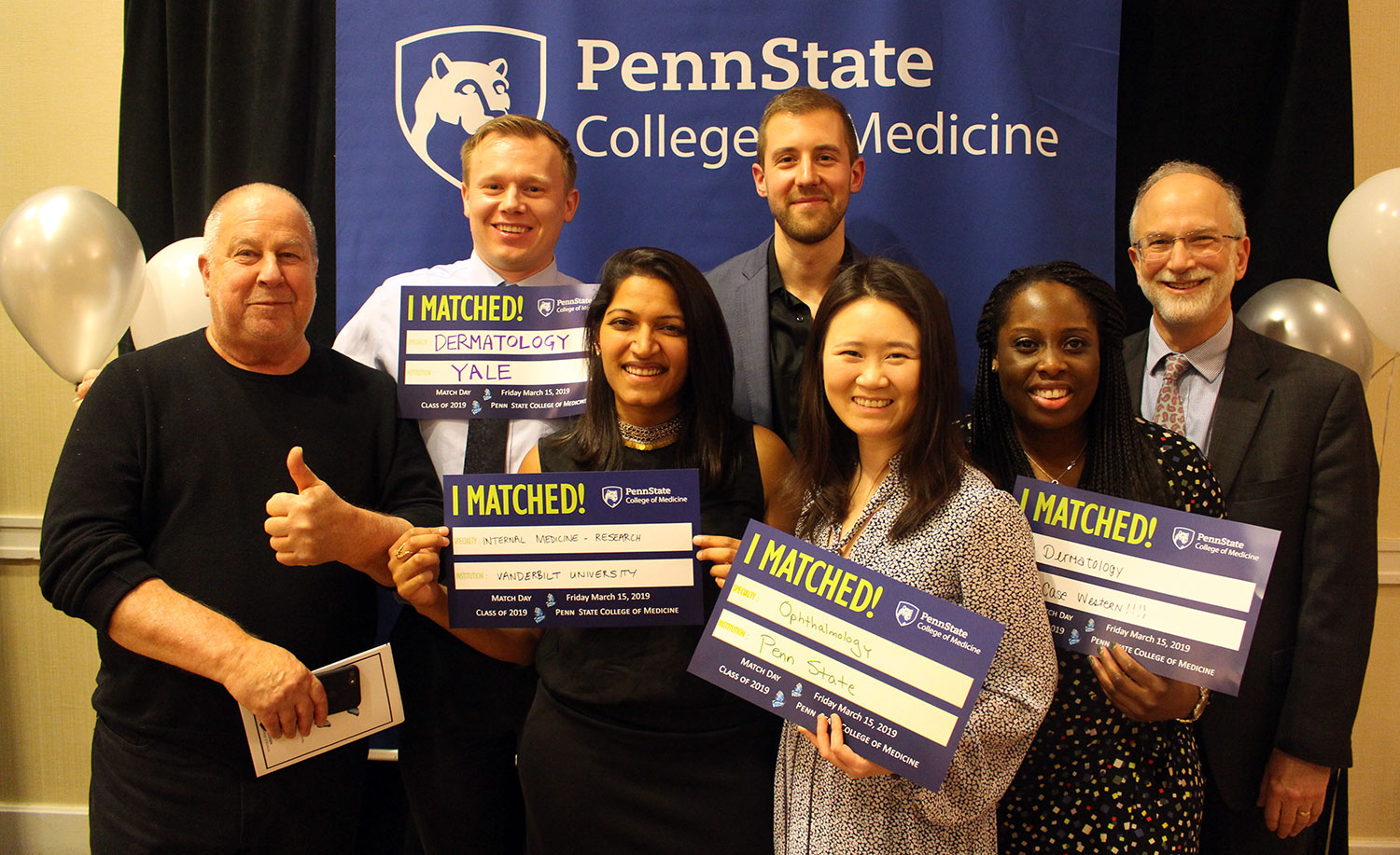 MD/PhD students find out their residency matches - Penn