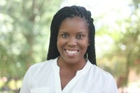 A head and shoulders profession photo of Candis Watts Smith, PhD