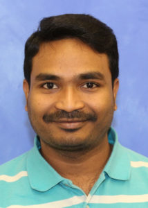 A head-and-shoulders professional photo of postdoctoral scholar Upendar Rao Golla
