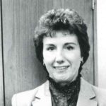 A head and shoulder portrait of Joyce Kales